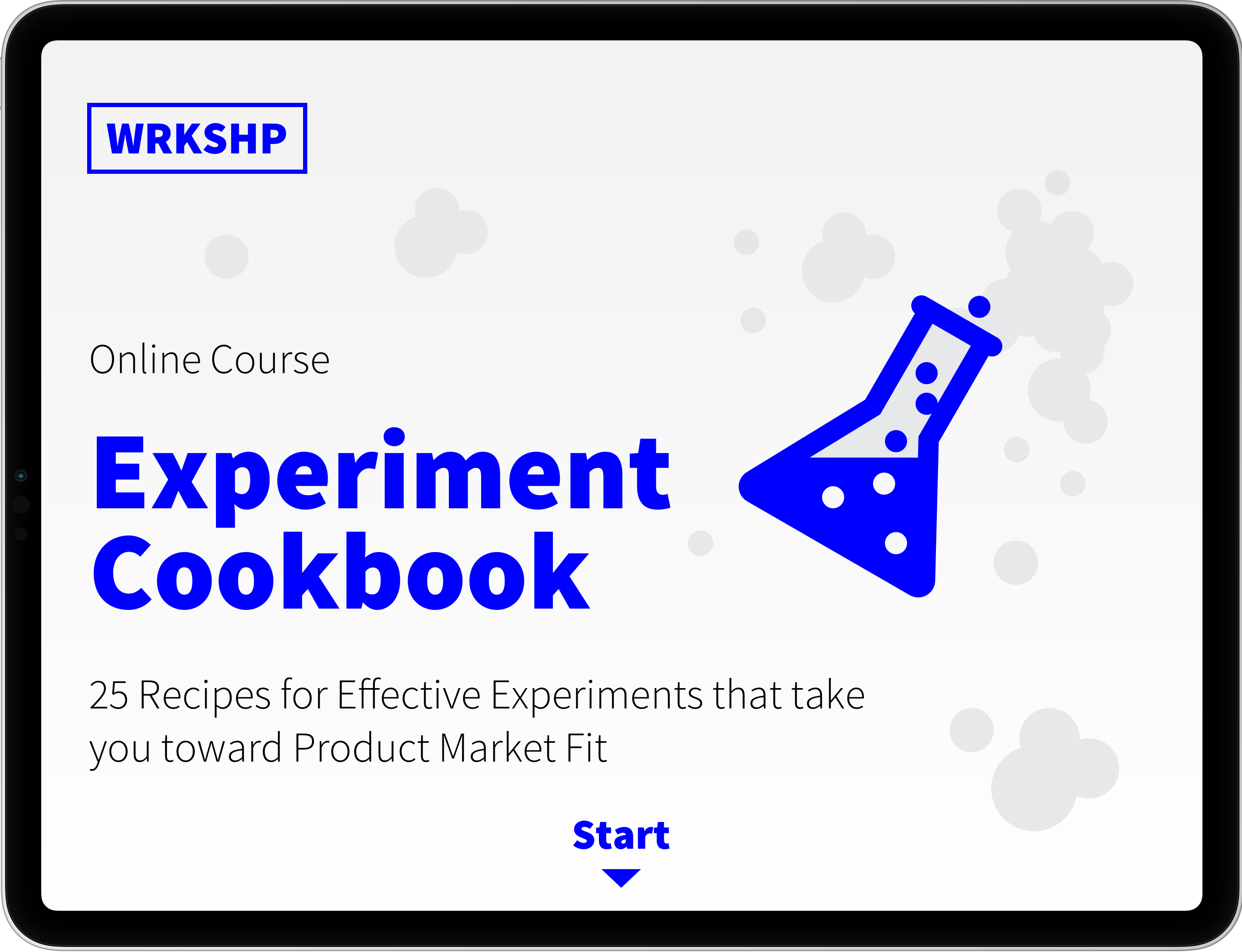 Experiment Cookbook
